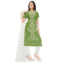 Bandhani Mehandi Suit