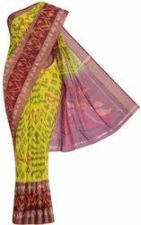 Casual Wear Coimbatore Silk Cotton Saree, 6.3 m (with blouse piece)