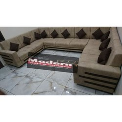 U Shaped Living Room Sofa Set
