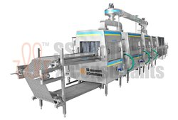 Auto Parts Cleaning Machine - Continuous Conveyor Model