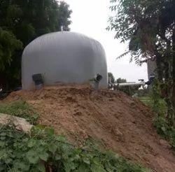 Ballon Balloon Type Flexi Biogas Plant, Plant Capacity: 1-5, 5Sq-feet
