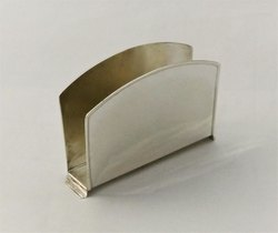 Pure Silver Napkin Holder