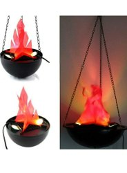 Flammen lamp Plastic LED Flame Lamp, Shape: Round, for Decorations