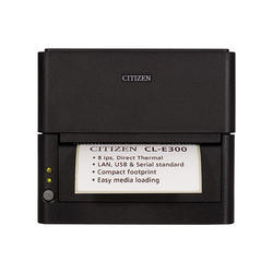 Barcode Printer - Citizen CL-E 300 Direct Thermal Printer with