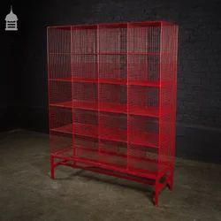 Steel Mesh Industrial Storage Rack