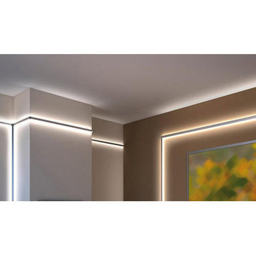 Rectangle aluminum led ceiling strip lights rs 650 square feet rectangle aluminum led ceiling strip lights aloadofball Choice Image