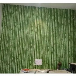 PVC Wallpaper, For Home, Packaging Type: Roll