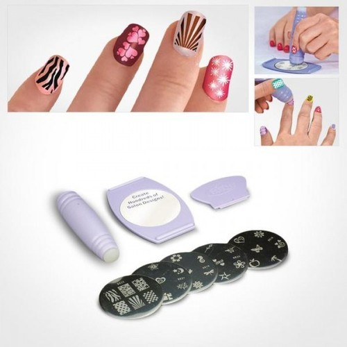 Salon Express Nail Art Stamping Kit 1pc Usage Parlour Rs 120