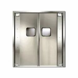 SS Hinged Stainless Steel Fire Safety Door, for Home
