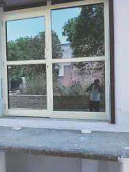 Aluminium shop door