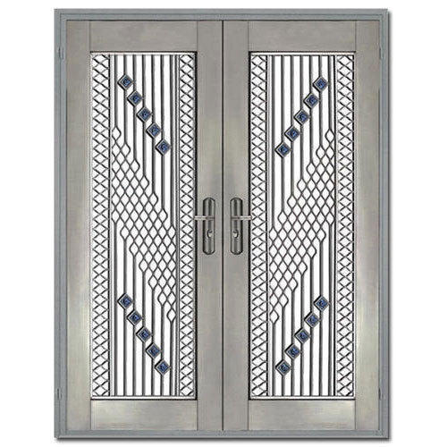 piece steel rs at designer doors cuirass door proddetail