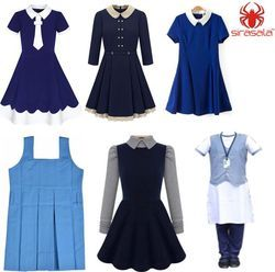 School Girls Tunics / Corporate School Uniform / SIRASALA-School Uniform