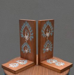 Wooden Bookends Lakdi Ke Bookends Latest Price