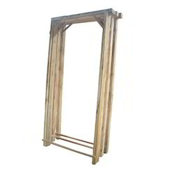 Brown Solid Door Frame