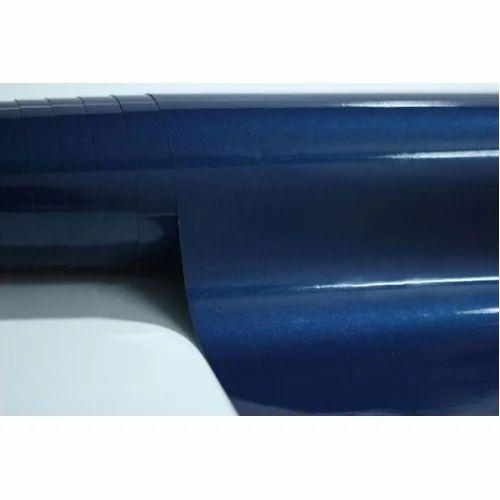 Dark Blue Metallic Wrap