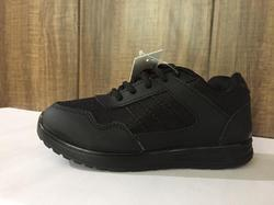 AQUALITE PU SOLE SPORTY LOOK,LIGHT WEIGHT BLACK SCHOOL SHOES, MRP STARTS AT 450, ALL SIZES AVAILABLE