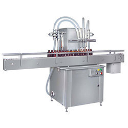 Automatic Carbon Steel Linear Bottle Filling Machine