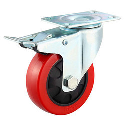 75 X 32 mm Fix Type PU Caster Wheel