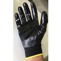PU Nitrile Coated Gloves