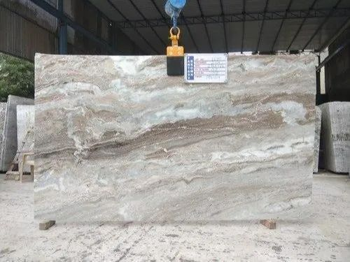 Grey Brown Fantasy Marble, Slab