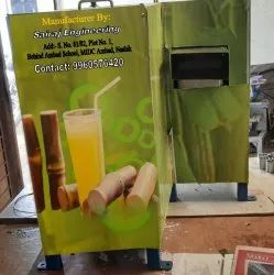 Automatic Stainless Steel Sugarcane Juice Machine, 6 Rollers