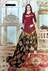 Patiala Cotton Printed Salwar Suit