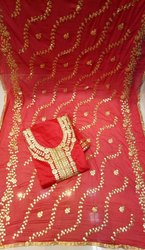 Women's Embroidered Salwar Suit