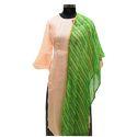 Green Leheriya Dupatta