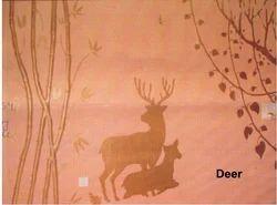 Big Stencils Deer