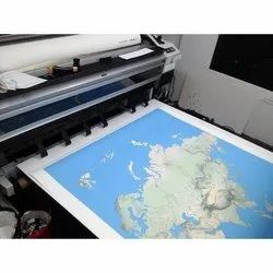 Paper Map Printing Service, Location: Pan India