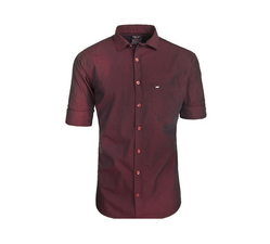 Maroon Party Wear Shirt