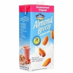 Blue Diamond Breeze Almond Milk Unsweetened for Restaurant, Quantity Per Pack: 24