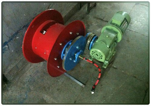 Steel Motorized Cable Reeling Drum