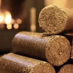 Dried Biomass Briquette