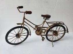 Iron Bicycle Miniature Bike Decor