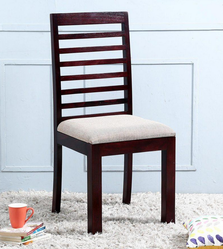 Dining Chair In Passion Mahogany Finish