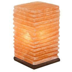 Pillar Shape Salt Lamp