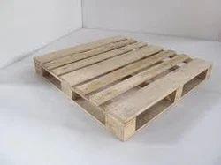 Wood Color Hardwood Pallets, Capacity: 1 Mt, Dimension/size: 1200 X 1000