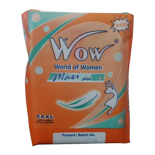 20e744fd1 Wow Maxi Plus Sanitary Pad at Rs 37  packet