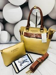 Fancy Leather Handbag