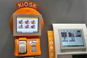 Self Service Bill Payment Credit Card Food Kiosk Stand