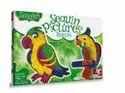 Toy Kraft 39592 Sequin Pictures Birds Multi Color