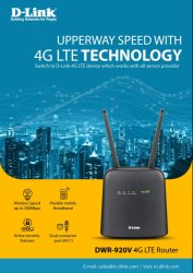 Wireless or Wi-Fi Lte 4G Modem