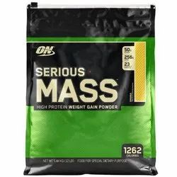 On Serious Mass Weight Gain Powder, 5.44 Kg, Packaging Type: Packet