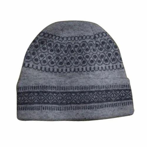 Multicolor Oswal Mens Winter Woolen Cap 9c7dfe9244b