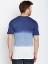 100% Cotton Men Half Sleeve Multicolour Round Neck T-Shirt