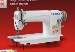 Sera 5.5-13 Bar SR 8700 Lockstitch Flatbed Sewing Machine, for Medium Material, Max Sewing Speed: 3000-4000 (stitch/min)
