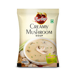 Berlino Creamy Mushroom Soup Packing Pouch