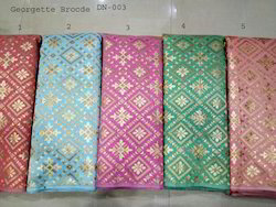 Fancy Cotton Brocade