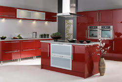 Commercial Kitchen Interior Decoration